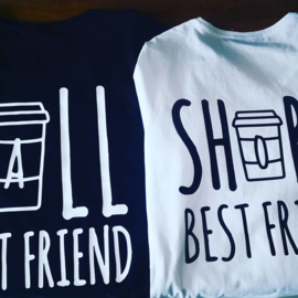 Tall&short best friends tshirts