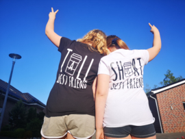 Tall&short best friends tshirts
