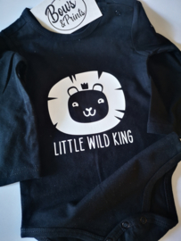 Romper little wild king