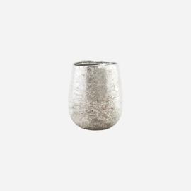 Tealight holder, Bright, Silver