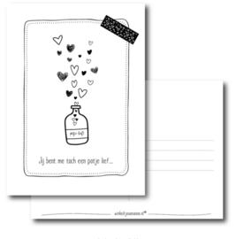 Flesje vol met liefde