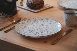 HV DINNER PLATE DOTS Ø28CM