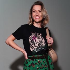 Pinned K t-shirt rebel tiger