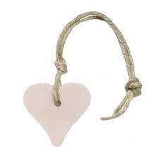 Hanger hart 55 gram licht roze parfum mille fleur