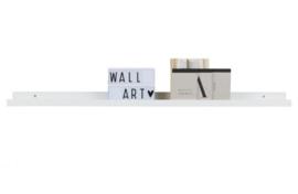 Studio fotolijstplank 120cm mdf wit (1pc)