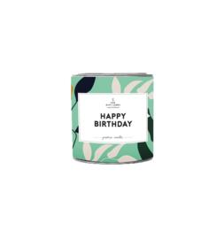 GEURKAARS IN BLIK - HAPPY BIRTHDAY