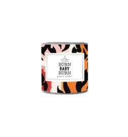 CANDLE SMALL - BURN BABY BURN