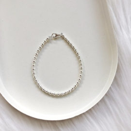 Armbandje | All silver - 2/3mm