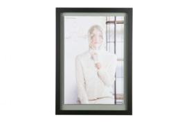 Shift fotolijst met houten rand x-large 70x50