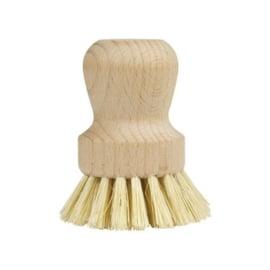 Mijn stijl afwasborstel hout zonder steel