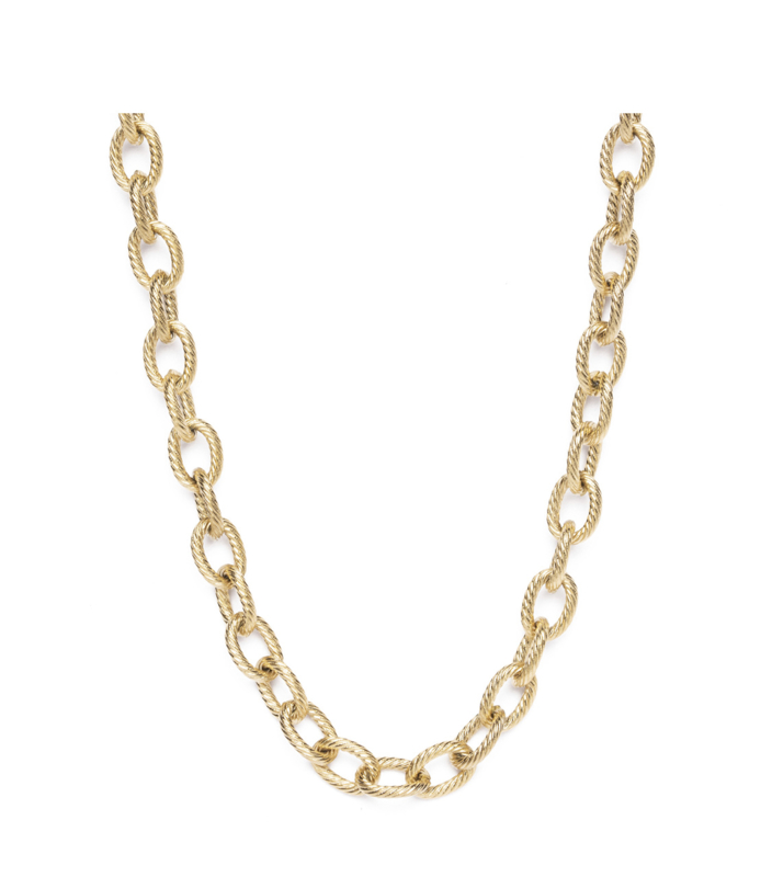 Madam the label gold chain big luxe goud
