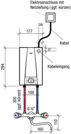 Doorstroom toestel 400V - groot LO