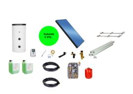 Doe het zelf - 150L boiler - 1 paneel 2.51 m2