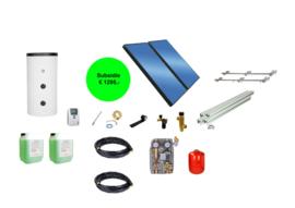 Doe het zelf - 200L boiler - 2 paneel 5 m2