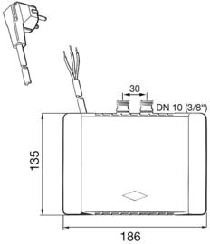 Doorstroom toestel lux NR-6