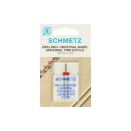 Tweelingnaald Schmetz 80
