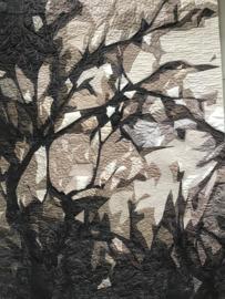 Bird in a tree - 82x118 cm