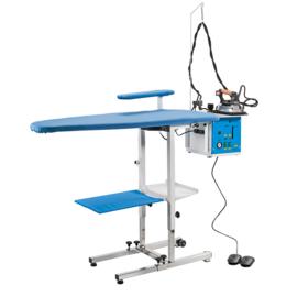 KER 5 Opklapbare regelbare strijktafel met boiler van 4,5 l