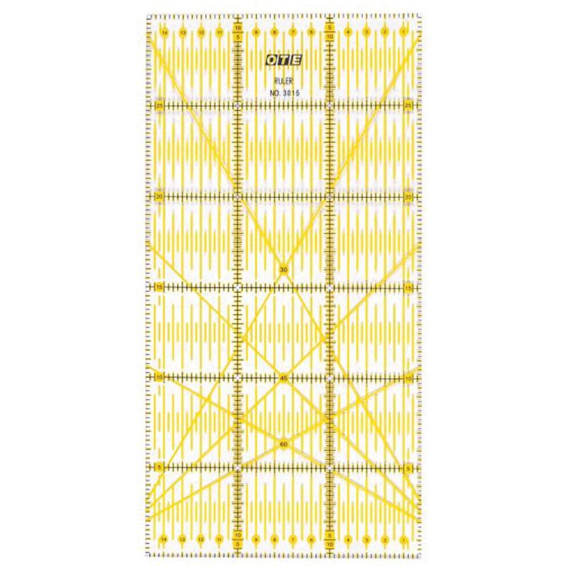 Liniaal 15x30 cm