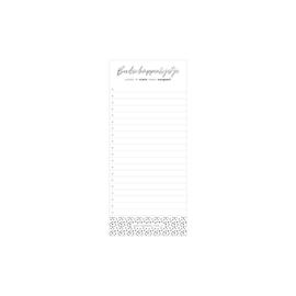 Notitiblok • Boodschappenlijstje (50 vel) | Per 3