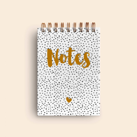 A6 notitieboekje • Stippen