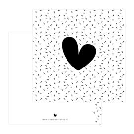 Dubbele Kaart • Hartje