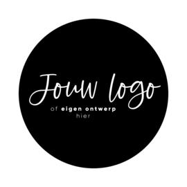 Gepersonaliseerde sticker • Eigen logo/ontwerp
