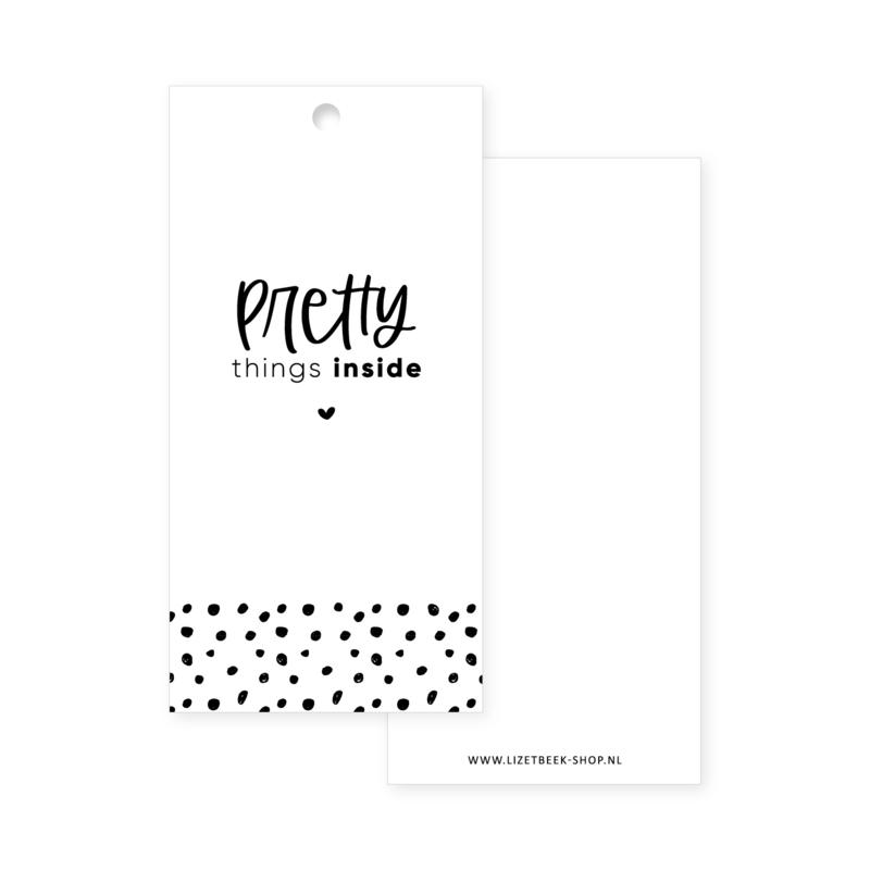 Cadeaulabel 45x90 • Pretty things inside