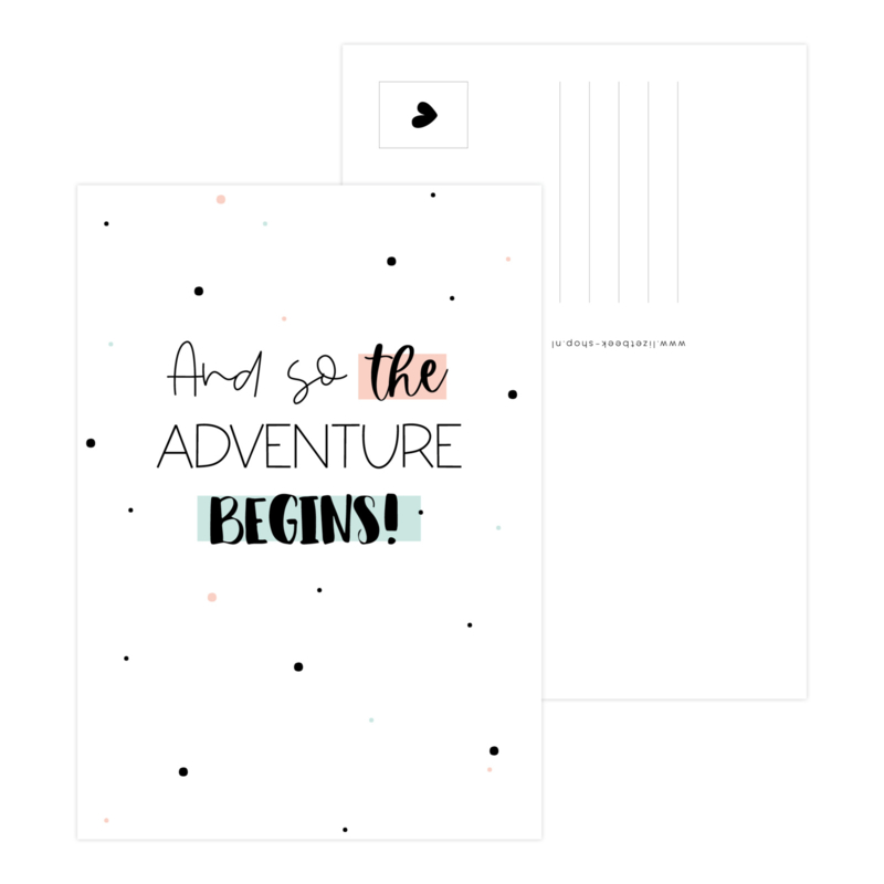 A6 Kaart • And so the adventure begins!