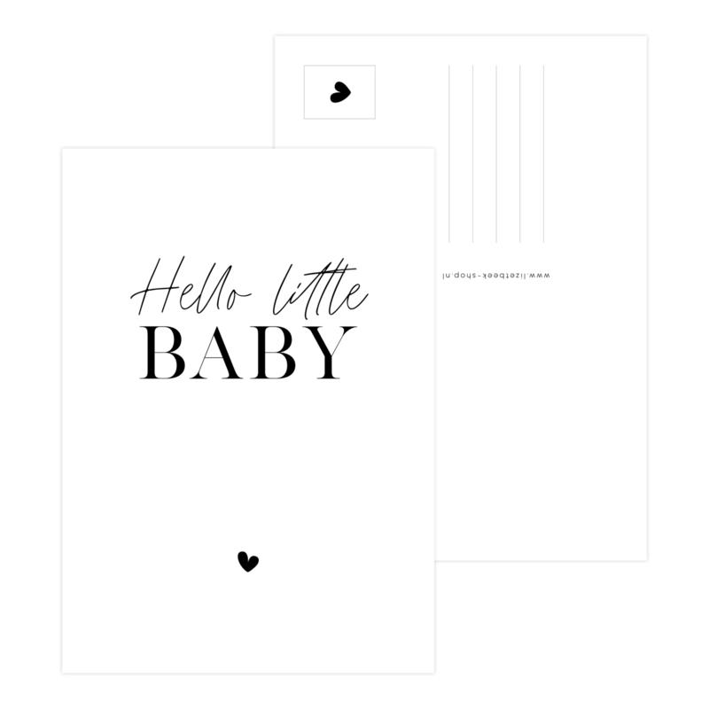 Kaart • Hello little baby