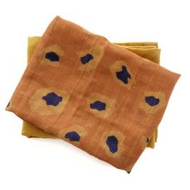MaeMae - Hydrofieldoeken Honey Gold/Rusty Leopard