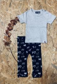 Kidooz- T-shirt korte mouw Grey