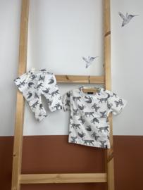 Kidooz- T-shirt korte mouw panter Mila