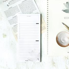 Notitieblokje voor jouw notities en to do's