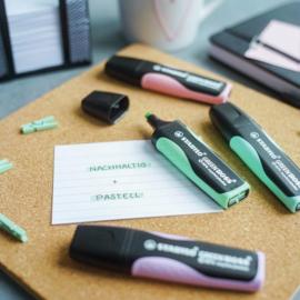 Stabilo Green Boss Original & Pastel – Deskset à 8 stuks