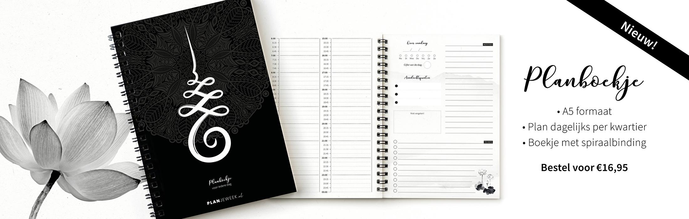 Planboekje