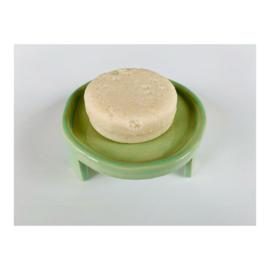 zeepschaaltje - rond, groen