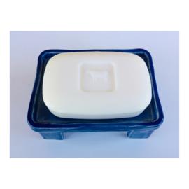 zeepschaaltje - rechthoek donkerblauw
