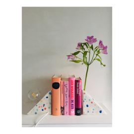 boekensteunset - gespikkeld