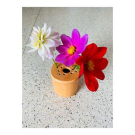 bloemenvaasje - oranje