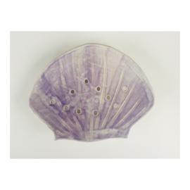 zeepschaaltje - lichtpaarse schelp