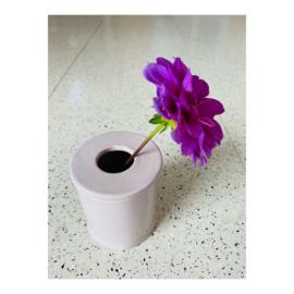 bloemenvaasje - lila