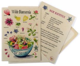 Wenskaart Wildpluk Recept - per stuk