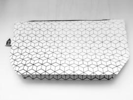 Toilettasje geometrisch - Cotton & Clay