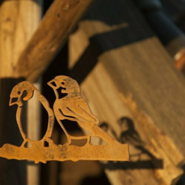 Metalen Huismusstelletje - Birdwise