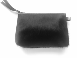 Clutch Roxy zwarte koeienhuid - Rockin 'Items
