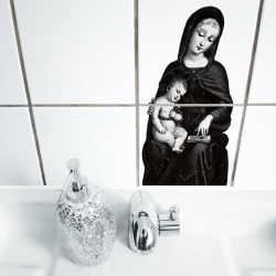 Tegelsticker Baby-Boy - Boubouki