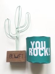 Draad cactus mintgroen - BLUFT