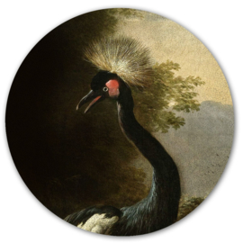 Muursticker 'Majestic Crane' - Groovy Magnets