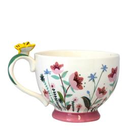 Secret Garden Flower Teacup - House of Disaster